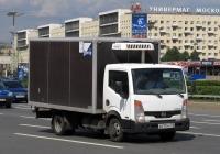 Фургон АФ-373200 на шасси Nissan Cabstar #А 017 НМ 178.  Санкт-Петербург, площадь Победы