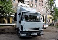 Фургон на шасси IVECO EuroCargo #АХ 7601 ЕН. Харьковская область, г. Харьков, Новгородская улица
