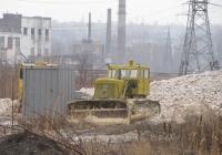 Бульдозер ДЗ-54 на тракторе Т-100М. Донецкая область, Константиновка, ул. Промышленная