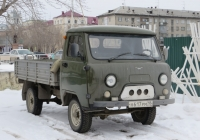 Бортовой грузовик УАЗ-330364 #Н 617 РМ 18.  Курган, Троицкая площадь