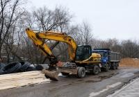 Колёсный экскаватор JCB JS200W #У 772 ВТ 199 . Москва, Проектируемый проезд №2236