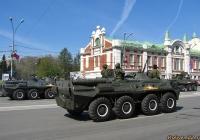 БТР-80. Новосибирск, Красный проспект