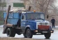 Бункеровоз ЗиЛ-ММЗ-49525 на шасси ЗиЛ-494560 #А 873 ЕР 96. Курган, улица Ленина