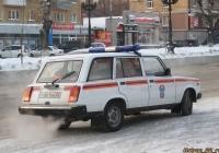 Оперативная машина МЧС на базе ВАЗ-21041i. Алтайский край, Барнаул, проспект Ленина