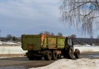 Перевозка органических удобрений с ферм на поля трактором МТЗ-1221.2 с полуприцепом  #IВ-6 2722. Беларусь, Могилёвская область, Хотимский район, Тростино
