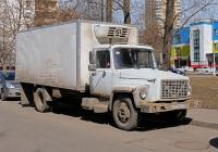 Фургон на шасси ГАЗ-3307 #В 072 МС 77 . Москва, Селигерская улица