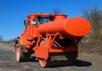 Каток статический трёхвальцовый СД-802 на базе трактора Т-150К #6123 ЕУ 32. Россия, Брянская область, Суражский район, Овчинец