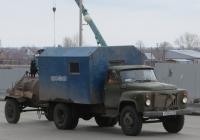 Аварийно-ремонтная машина водоканала на шасси ГАЗ-53-14 #Х 555 КЕ 45. Курган, улица Климова