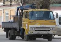 Грузовик с КМУ на шасси Isuzu SBR  #Х 365 МУ 174. Курган, улица Куйбышева