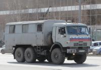 Вахтовый автобус НефАЗ-42111 на шасси КамАЗ-43114 #А 619 ХС 74. Курган, улица Ленина