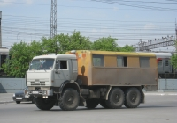 Вахтовый автобус НефАЗ-42111 на шасси КамАЗ-43114 #А 619 ХС 74 . Курган, Станционная улица