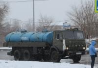 Цистерна для перевозки технической воды на шасси КамАЗ-53212 #А 021 ЕВ 45.  Курган, улица Ленина