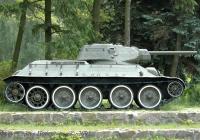 Средний танк Т-34-76 образца 1942 года. Украина, Киевская область, Новые Петровцы, музей «Битва за Киев 1943 года»