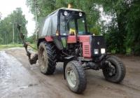 Трактор Беларус-892 #9621 ЕА 60. Псковская область, Порховский район, д. Нестрино