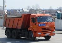 Самосвал КамАЗ-45147 на шасси КамАЗ-65115-6058-19 #Е 844 МЕ 45. Курган, улица Климова