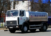 Автоцистерна на шасси МАЗ-5337 #АВ 5355-6. Беларусь, Могилёвская область, Кричев