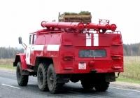 Пожарная автоцистерна АЦ-40(131)-137А на шасси ЗиЛ-131 #ТМ3261. Беларусь, Могилёвская область, Костюковичский район
