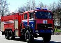 Пожарная автоцистерна АЦ-10,0-40(6317) [Y39-018] на шасси МАЗ-6317 #АЕ 9505-6. Беларусь, Могилёвская область, Кричев