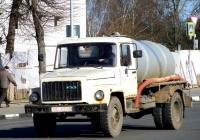 Ассенизаторная цистерна КО-503В на шасси ГАЗ-3307 #ТЕ 0728. Беларусь, Могилёвская область, Кричев