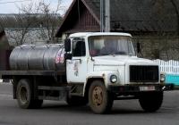 Автоцистерна на шасси ГАЗ-3307 #ТС 0894. Беларусь, Могилёвская область, Краснополье