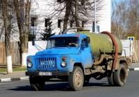Ассинезаторная цистерна КО-503В на шасси ГАЗ-53-12  #АЕ 6586-6. Беларусь, Могилёвская область, Кричев