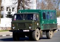 Вахтовый автобус на шасси ГАЗ-66 #ТЕ 3677. Беларусь, Могилёвская область, Кричев