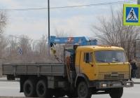 Бортовой грузовик с КМУ на шасси КамАЗ-5410 #Т 453 НК 72. Курган, улица Ленина