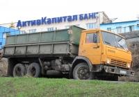 КамАЗ-55102 #В507КУ163. г. Самара, ул. Красноармейская