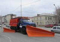 Комбинированная дорожная машина на шасси Урал NEXT 55571-72 #О 213 МЕ 45 . Курган, улица Савельева