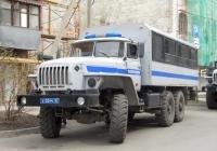 Вахтовый автобус специального назначения Урал-32551-0018-41 #Х 0244 63. Самара, Рабочая улица