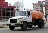 Ассенизаторная цистерна КО-503В-3 на шасси ГАЗ-3307 #ТЕ 6075. Беларусь, Могилёвская область, Краснополье