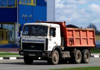 Самосвал МАЗ-5516 #АА 6751-6. Беларусь, Могилёвская область, Костюковичи