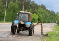 Коммунальная машина на базе трактора МТЗ-80. Рязанская область