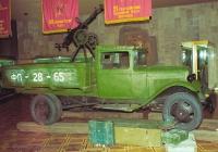 Грузовик ГАЗ-ММ с пулеметом ДШК-12,7. Музей Великой Отечественной войны. Киев. ул. Лаврская 27.