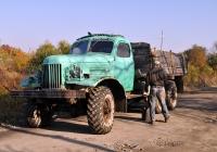 Бортовой грузовик ЗиЛ-157К. Хабаровский край, село Болонь