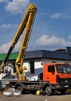 Автоподъёмник ПМС-22 на шасси МАЗ-437137 #АЕ 2157-6. Беларусь, Могилёвская область, Хотимск