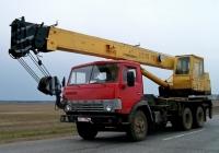 Автокран КС-4572 на шасси КамАЗ-53213  #ТЕ 2845. Беларусь, Могилёвская область, Костюковичский район