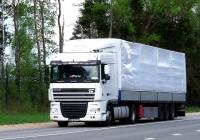 Седельный тягач DAF XF 95*  #MFW 050. Россия, Смоленская область, Шумячский район