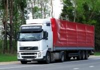 Седельный тягач Volvo FH12  #LLU 5H77. Россия, Смоленская область, Шумячский район