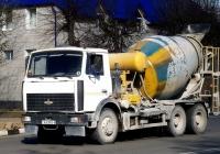 Автобетоносмеситель на шасси МАЗ-6303 #АА 9583-6. Беларусь, Могилёвская область, Кричев