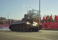 средний танк Т-34-76. г. Самара, пл. им. В. В. Куйбышева