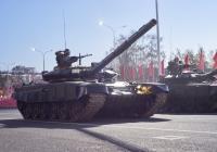 основной танк Т-72. г. Самара, пл. им. В. В. Куйбышева