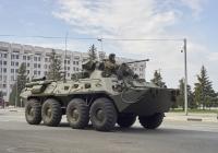 БТР-82*. г. Самара, пл. им. В. В. Куйбышева