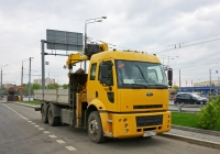 Бортовой грузовик с КМУ на шасси Ford Cargo 2530 #Т 598 ВА 750  . Москва, проспект Мира (дублёр)