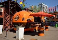 Прицеп-автолавка (торговый тонар) #ЕК 4280 77   . Москва, Большая Новодмитровская улица