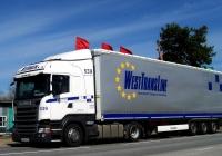 Седельный тягач Scania P460 #AP 0220-7. Беларусь, Могилёвская область, Кричевский район, Красная Буда