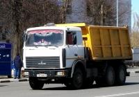 Самосвал МАЗ-5516 #АЕ 9604-6. Беларусь, Могилёвская область, Кричев