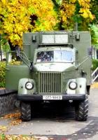 Бывшая радиостанция Р-103М на шасси ГАЗ-63Э #077-98 КВ. Киев
