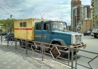 аварийная машина на шасси ЗиЛ-4331* #М665СУ163. г. Самара, ул. Полевая