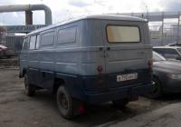 Цельнометаллический фургон ЕрАЗ-762В #В 792 АМ 72. Тюмень, улица Самарцева